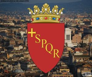 Puzzle de Escudo de Roma