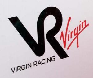 Puzzle de Escudo de Virgin Racing