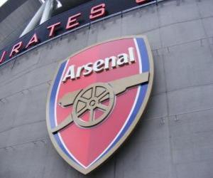 Puzzle de Escudo del Arsenal F.C.