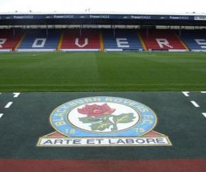 Puzzle de Escudo del Blackburn Rovers F.C.