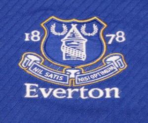 Puzzle de Escudo del Everton F.C.