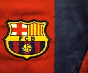 Puzzle de Escudo del F. C. Barcelona