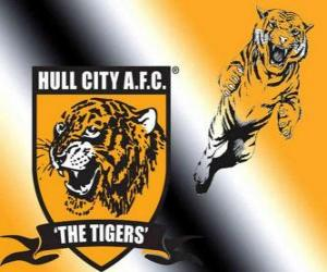 Puzzle de Escudo del Hull City A.F.C.
