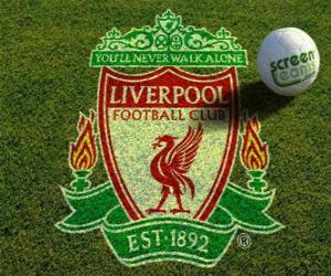 Puzzle de Escudo del Liverpool F.C.