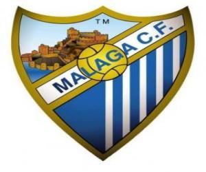 Puzzle de Escudo del Málaga C.F