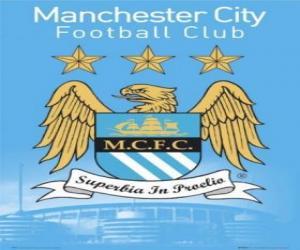 Puzzle de Escudo del Manchester City F.C.