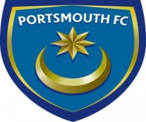 Puzzle de Escudo del Portsmouth F.C.