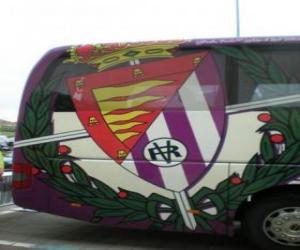 Puzzle de Escudo del Real Valladolid C. F.