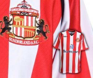 Puzzle de Escudo del Sunderland A.F.C.