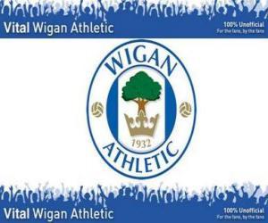 Puzzle de Escudo del Wigan Athletic F.C.