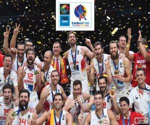 Puzzle de España, EuroBasket 2015