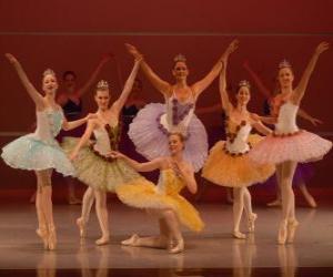 Puzzle de Espectáculo de ballet