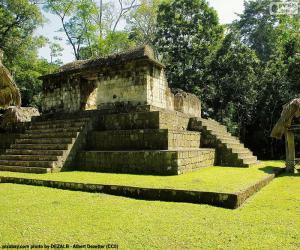 Puzzle de Est A-3, Ceibal, Guatemala