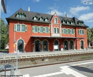 Puzzle de Estación de ferrocarril