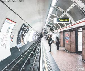 Puzzle de Estación Metro de Londres