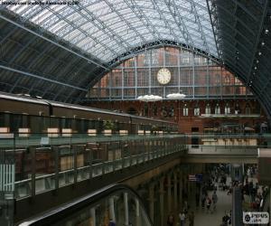 Puzzle de Estación de St. Pancras, Londres