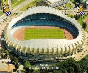 Puzzle de Estadio de la Real Sociedad - Anoeta -
