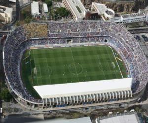 Puzzle de Estadio del C.D. Tenerife - Heliodoro Rodríguez López -