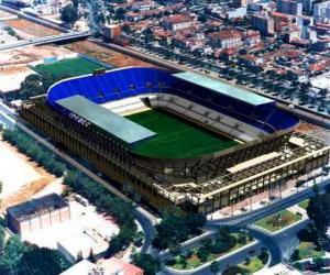 Puzzle de Estadio del Málaga C.F - La Rosaleda -