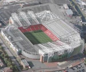 Puzzle de Estadio del Manchester United F.C. - Old Trafford -