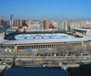 Puzzle de Estadio del Real Zaragoza - La Romareda -