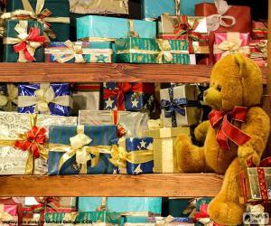 Puzzle de Estanterías llenas de regalos