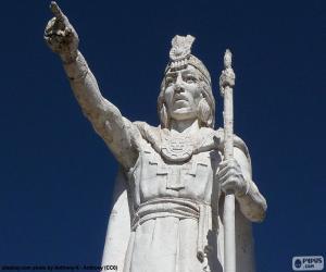 Puzzle de Estatua de Manco Cápac