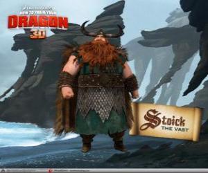 Puzzle de Estoico, el tradicional jefe vikingo