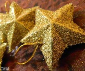 Puzzle de Estrellas, para el árbol de Navidad