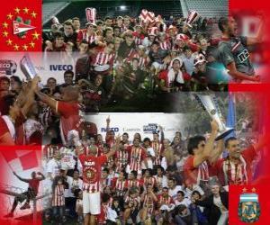 Puzzle de Estudiantes de La Plata - Campeón Apertura 2010 en Argentina