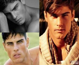 Puzzle de Evandro Soldati es un modelo brasileño