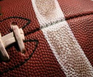 Puzzle de Fútbol americano balón