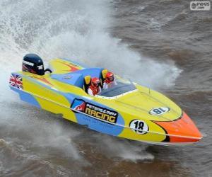 Puzzle de F1 Powerboat