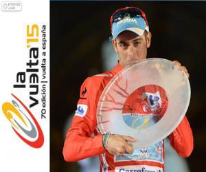 Puzzle de Fabio Aru Vuelta España 15