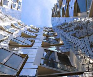 Puzzle de Fachada de un moderno edificio