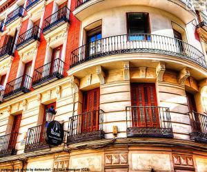 Puzzle de Fachada edificio de Madrid
