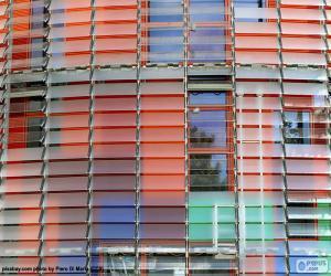 Puzzle de Fachada Torre Agbar, Barcelona