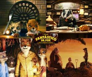 Puzzle de Fantástico Sr. Fox o El Fantástico Sr. Zorro
