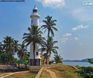 Puzzle de Faro de Galle, Sri Lanka