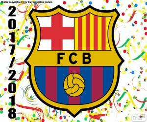 Puzzle de FC Barcelona, campeón 2017-18