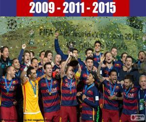 Puzzle de FC Barcelona Copa FIFA 2015