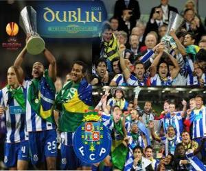 Puzzle de FC Oporto, Porto, campeón de la UEFA Europa League 2010-2011