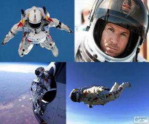 Puzzle de Felix Baumgartner salto estratosfera