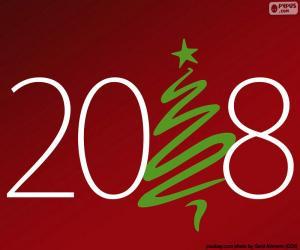 Puzzle de Feliz año 2018