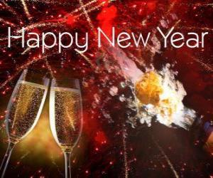 Puzzle de Feliz Año Nuevo