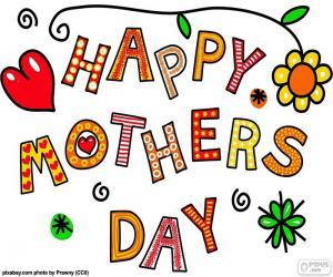 Puzzle de Feliz día de la madre