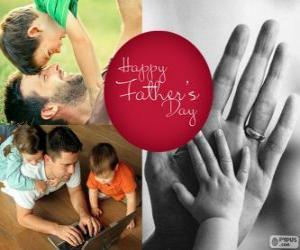 Puzzle de Feliz dia del padre