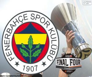 Puzzle de Fenerbahçe, campeón Euroliga 2017