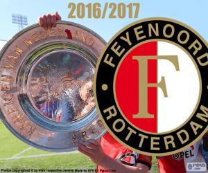 Puzzle de Feyenoord, campeón 2016-2017