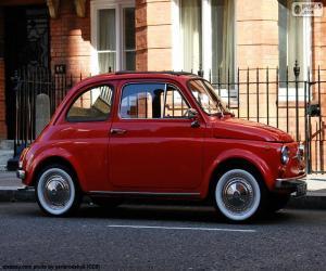 Puzzle de Fiat 500 (1957-1975)